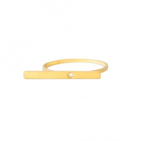 Golden Segment Ring
