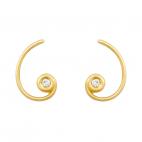 Pendientes Espiral Aurea