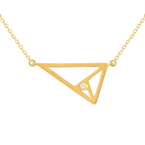 Golden Triangle Pendant