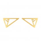 Pendientes Triángulo Aureo