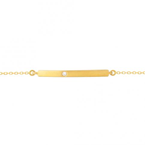 Golden Segment Bracelet