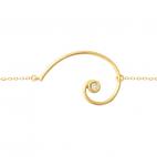 Pulsera Espiral Aurea