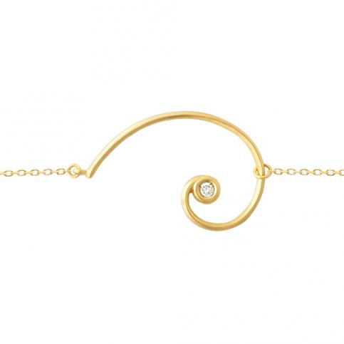 Golden Spiral Bracelet