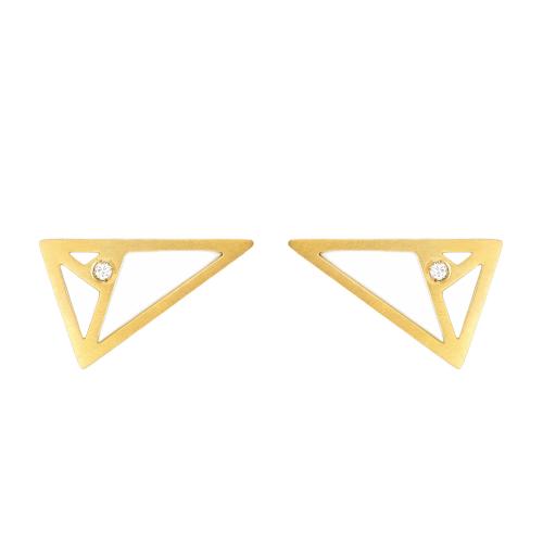 Pendiente Triángulo Aureo