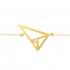 Pulsera Triángulo Aureo
