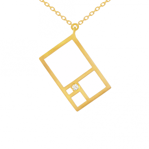 Golden Rectangle Pendant
